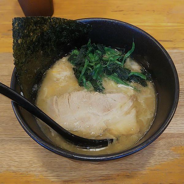 「ミニとき卵ラーメン(醤油・カタメ)」@ラーメン 大山家の写真