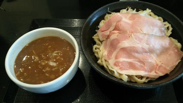 「極.どろつけ麺(中盛、ローストポーク)」@つけ麺 どでんの写真