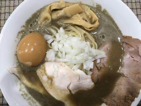 「濃厚煮干しらぁめん 800円」@麺屋 銀二の写真