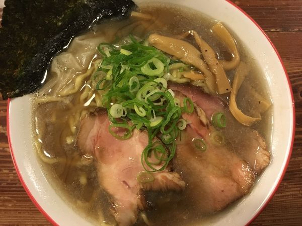 「煮干中華 800円」@麺 酒 やまのの写真