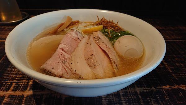 「特製塩そば」@麺や 結の写真