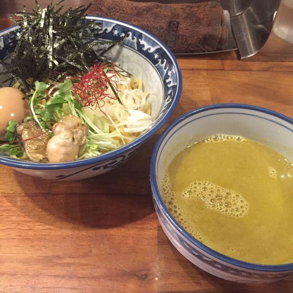 「牡蠣 つけ麺」@麺や佐市の写真