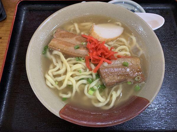「沖縄そば小 520円」@我部祖河食堂 美栄橋駅前店の写真