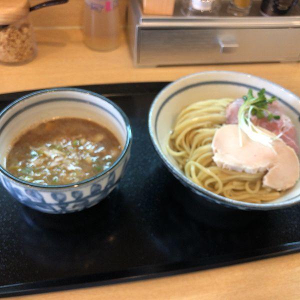 「つけ麺大盛(800円)」@つけ麺 いな月の写真