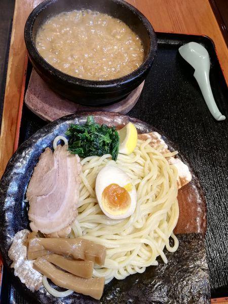 「濃厚豚骨伊勢海老つけ麺」@竹本商店★つけ麺開拓舎の写真