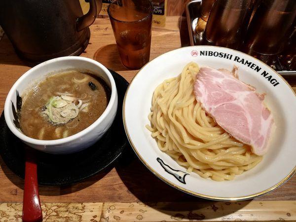 「濃厚煮干しつけめん」@NIBOSHI TSUKEMEN 凪 大宮南銀通り店の写真