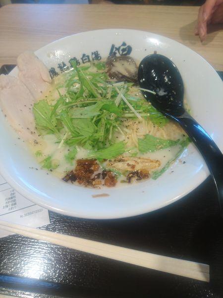 「吟上らーめん(塩」@濃熟鶏白湯 錦の写真