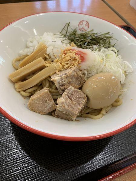 「油そば860円」@つけ麺専門店 三田製麺所 イオンモールナゴヤドーム前店の写真