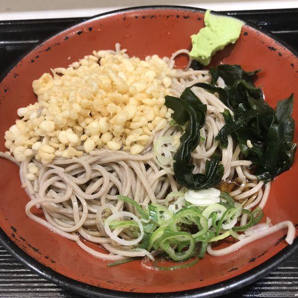 「たぬき(¥390)」@名代 富士そば 巣鴨駅前店の写真