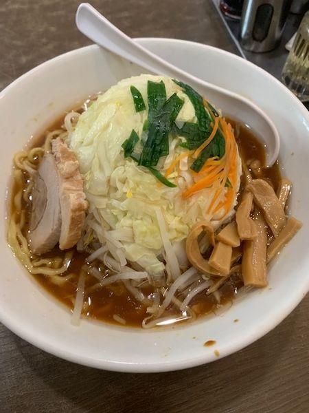 「ちょいコテ旨コク正油野菜麺 780円→800円」@中華 味一の写真