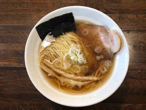 「醤油ラーメン」@上州地鶏らーめん まるわの写真