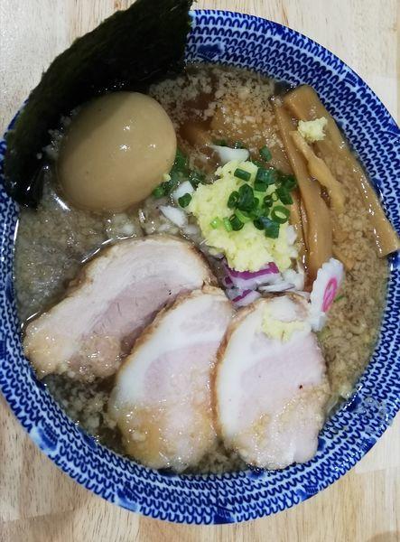 「特製にぼ助ラーメン千円(大盛無料)」@厳選煮干ラーメン 初代 にぼ助の写真