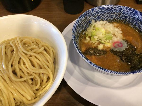 「つけ麺(中)850円」@狼煙 東大宮店の写真