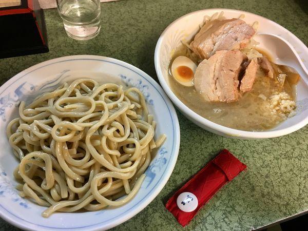「小つけ麺」@ラーメン二郎 新宿小滝橋通り店の写真
