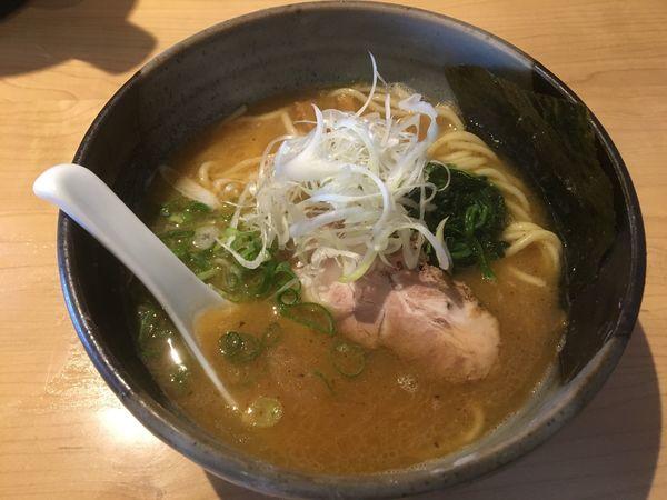 「鐙らぁめん(醤油)」@製麺食堂 あぶみの写真