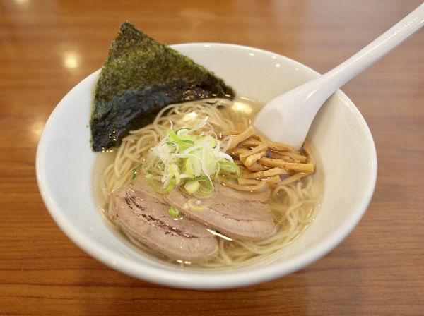 「煮干中華そば 塩…850円」@麺処 まるは BEYONDの写真