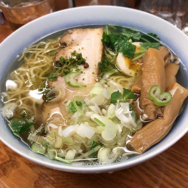 「和風柚子柳麺」@麺屋ひょっとこの写真