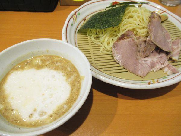 「とろろつけ麺(950円)」@らーめん いちの写真