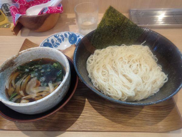 「昆布水つけ麺並800円」@麺処つむじの写真