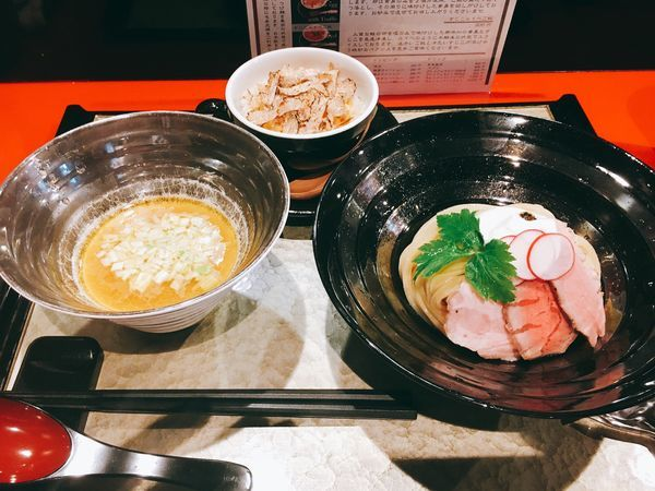 「特製つけ麺」@江戸前つけ麺 銀座 魄瑛の写真