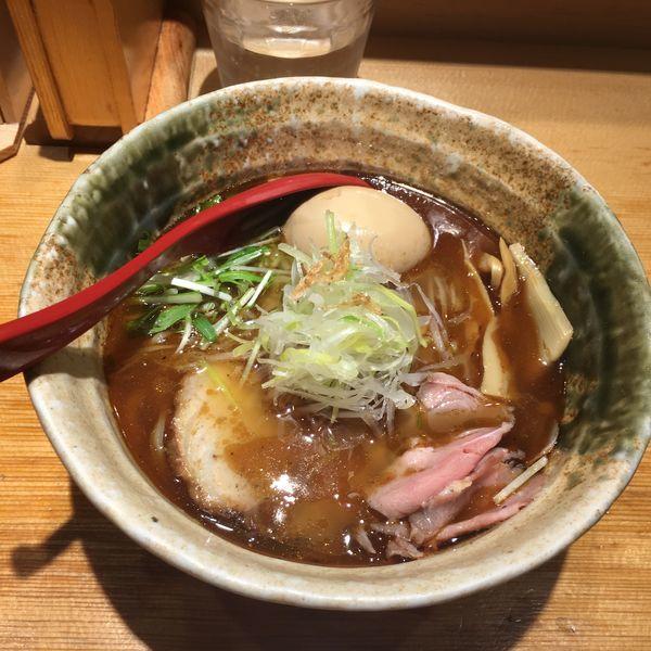 「焼きあご塩ラーメン 味玉」@焼きあご塩らー麺 たかはしの写真