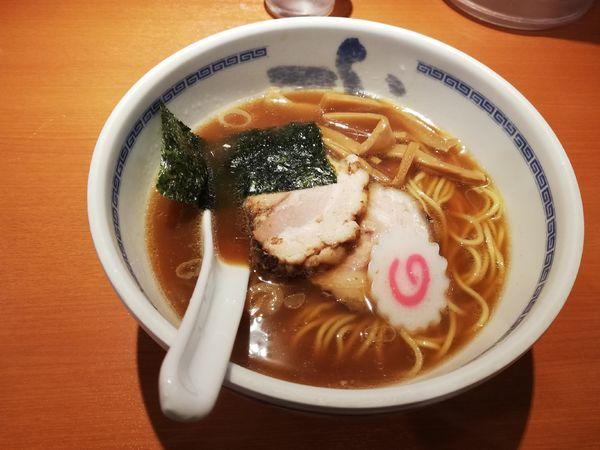 「らーめん 醤油」@たけちゃんにぼしらーめん 調布店の写真