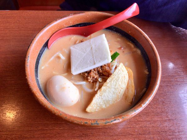 「超バターらーめん 煮卵追加」@麺場 田所商店 籠原店の写真