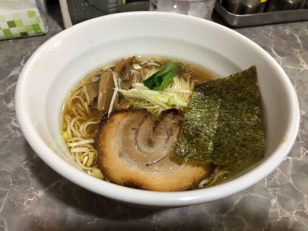 「らーめん濃厚魚出汁 普通盛 700円」@製麺raboの写真