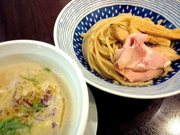「濃厚鶏白湯つけ麺(塩) ¥820」@麺場ニ寅 川越店の写真