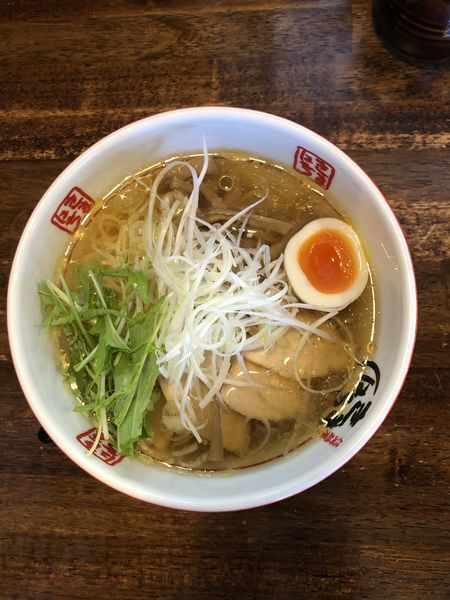 「冷たい鶏中華そば」@信州麺屋 きまはち商店の写真