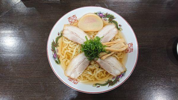 「中華そば 780円 醤油」@自家製麺中華そば 番家の写真