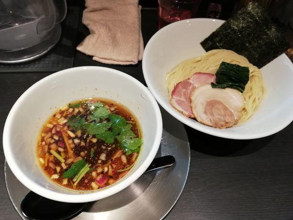 「あっさりつけ麺 限定」@つけ麺 中華そば アンタイNOODLESの写真