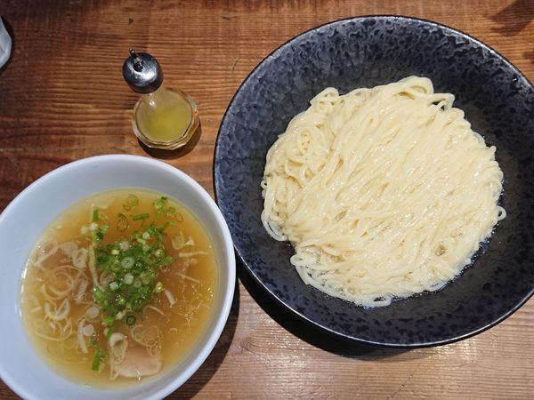 「しおつけ麺(950円)」@町田汁場 しおらーめん 進化の写真
