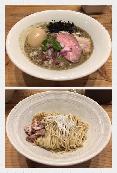 「【限定】Squid.conc.+味玉+和え玉(白しょうゆ)」@The Noodles & Saloon Kiriyaの写真