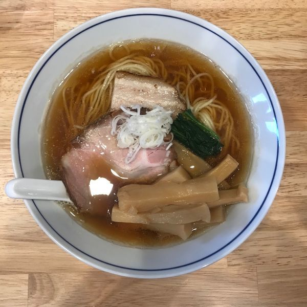 「煮干そば メンマ 920円」@麺や たけ田の写真