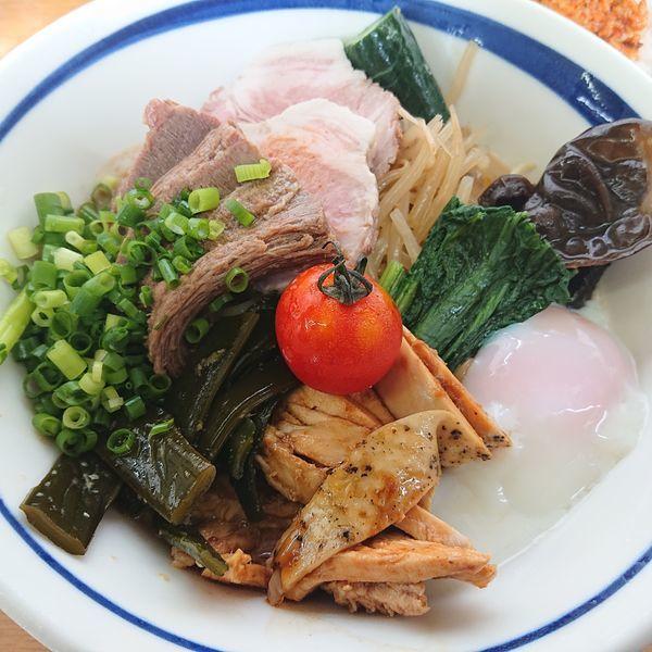 「3種肉冷やし1500円」@MENYA 食い味の道有楽の写真