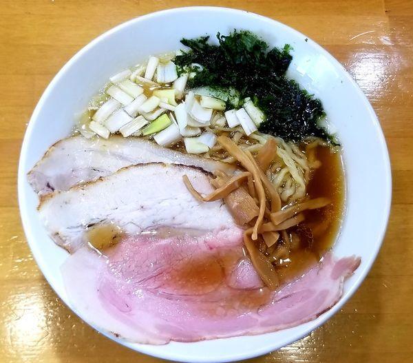 「しょうゆ中華そば」@自家製中華そば 麺の虜の写真