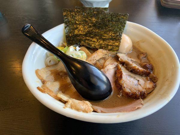 「特製らーめん1020」@麺屋 たけ井 本店の写真