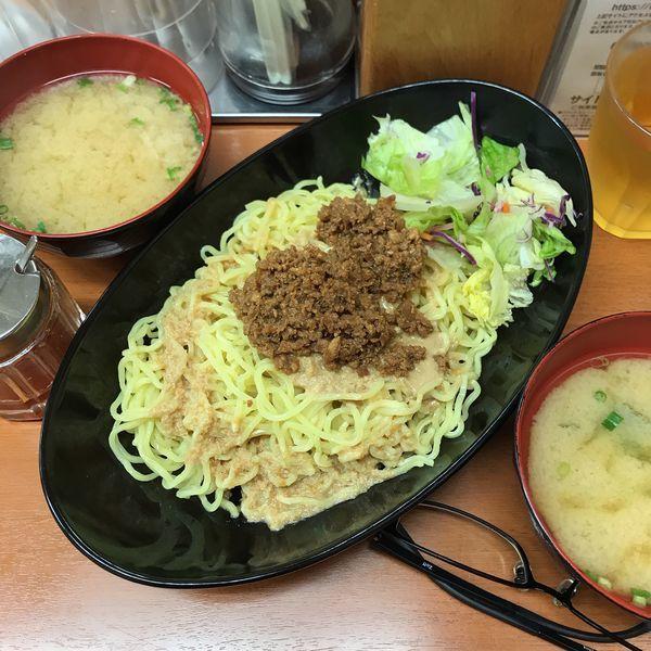 「冷やしシビ辛担担麺」@Sガスト 立川駅南口店の写真