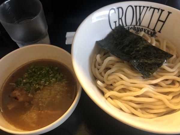 「つけ麺・中(770円)」@麺処GROWTHの写真