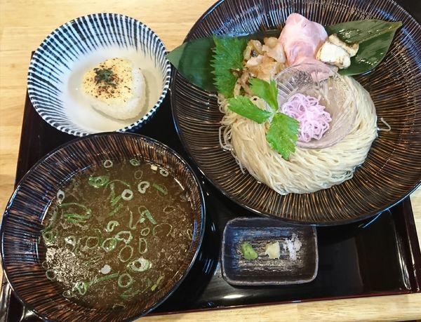 「【限定】真鯛つけそば 極 ¥1000」@寿製麺よしかわ 坂戸店の写真