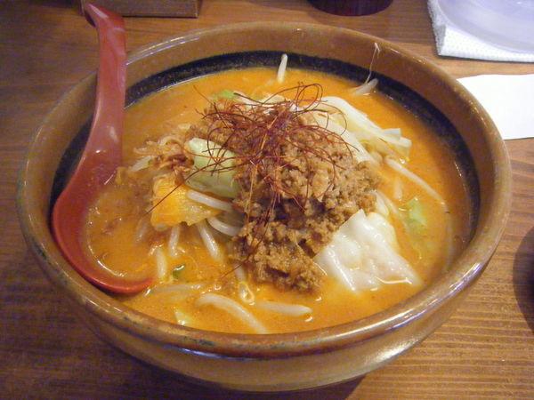 「辛味噌 野菜らーめん」@蔵出し味噌 麺場 壱歩 東大和店の写真