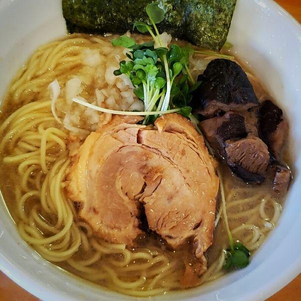 「和なりソバ(醤油)750円」@らーめん 和なり 千の写真