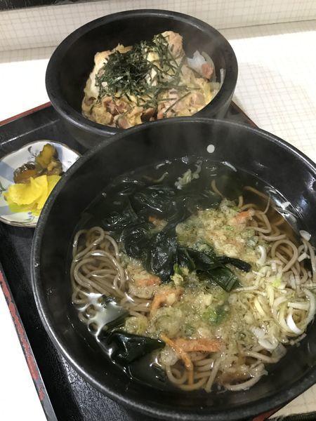 「おやこ丼セット  500円」@わたべやの写真