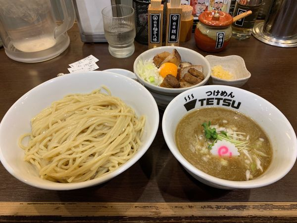 「夜つけ麺大盛り煮干し」@つけめん102 川口店の写真