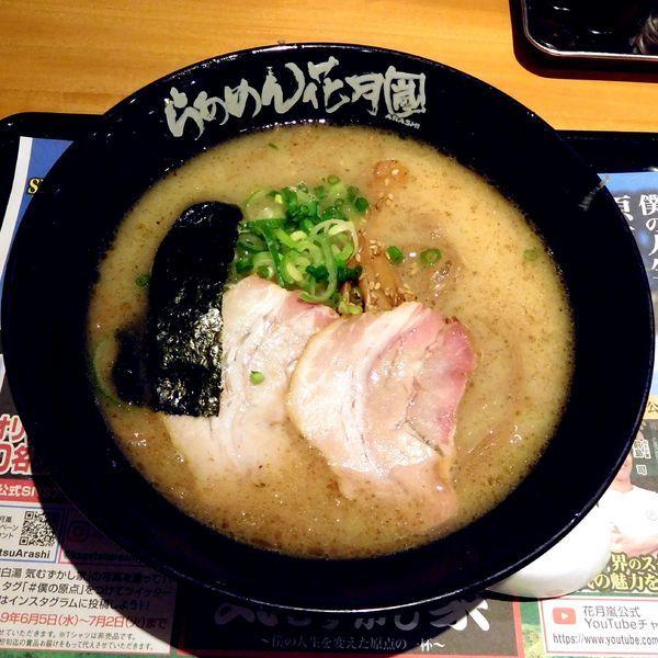 「【期間限定】信州鶏白湯 気むずかし家(780円)」@らあめん花月嵐 ファブ南大沢店の写真