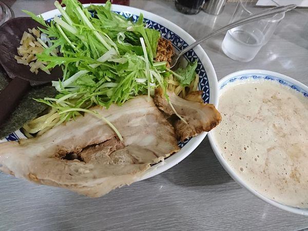 「タンタンつけ麺(950円)」@麺や てつの写真