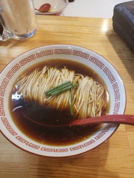 「かけ醤油」@自家製麺 くろ松の写真
