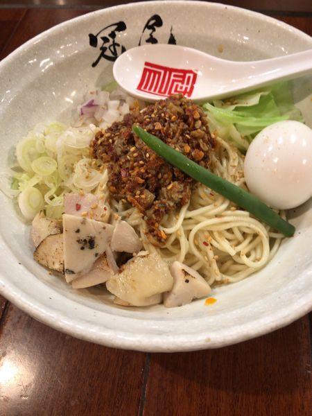 「濃厚辛和え麺 980円」@らぁめん冠尾 恵比寿西店の写真