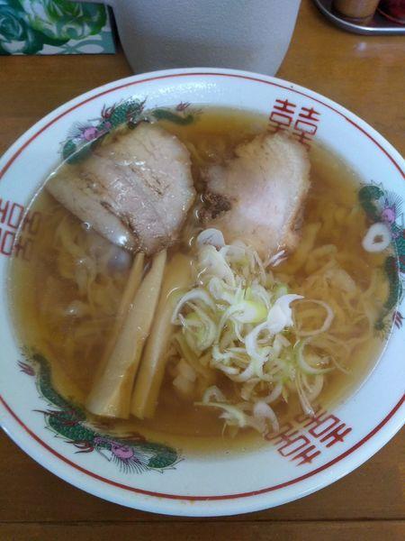 「ラーメン  650円」@手打ちラーメン ピッコロの写真